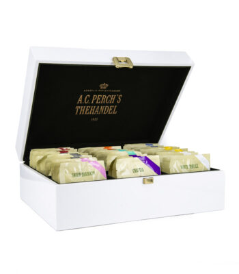 WHITE PRESENTATION BOX 45 TEABAGS