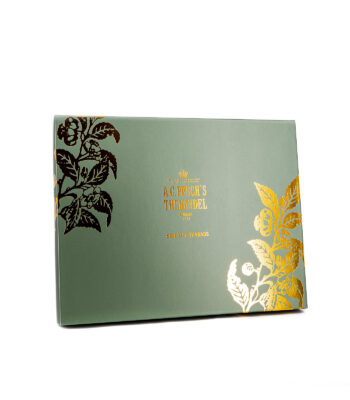Grüne Schachtel Teebeutel