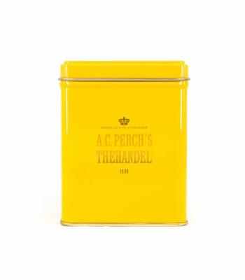 Klassisk gul 100 grams dåse